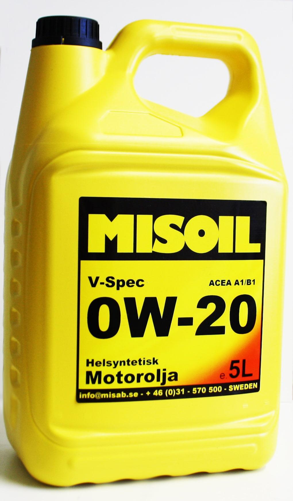 MISOIL 0W-20 V-SPEC 1L