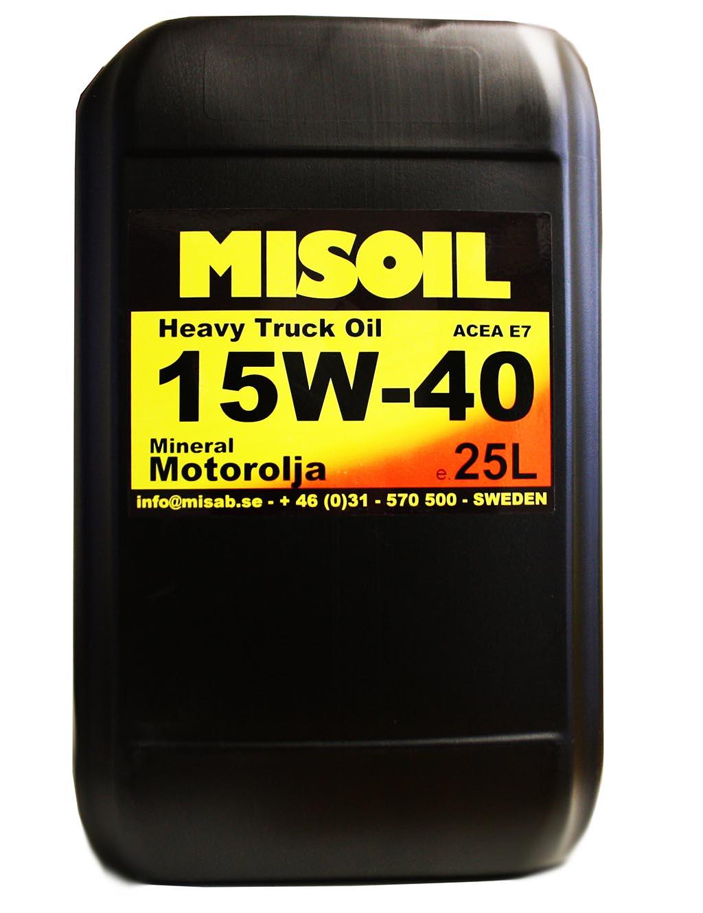 MISOIL HTO 15W-40 25L
