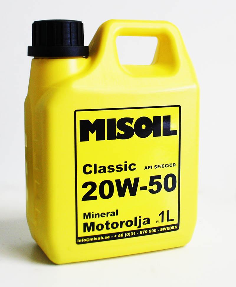MISOIL CLASSIC 20W-50 1L
