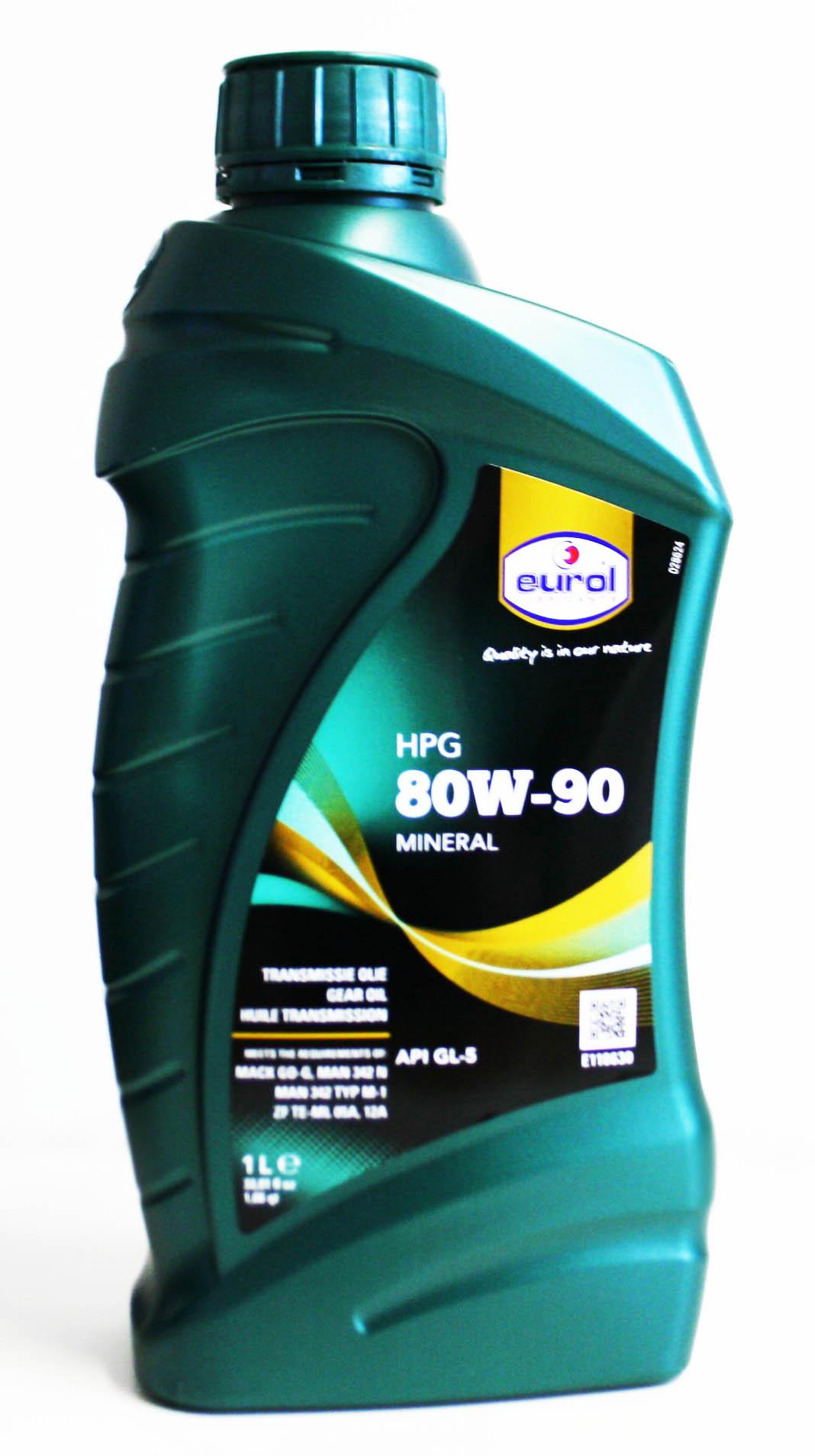 EUROL HPG 80W-90 GL-5 1L