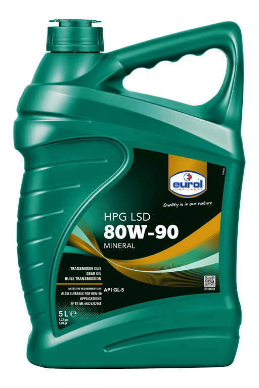 EUROL 80W-90 GL5 LSD 5L
