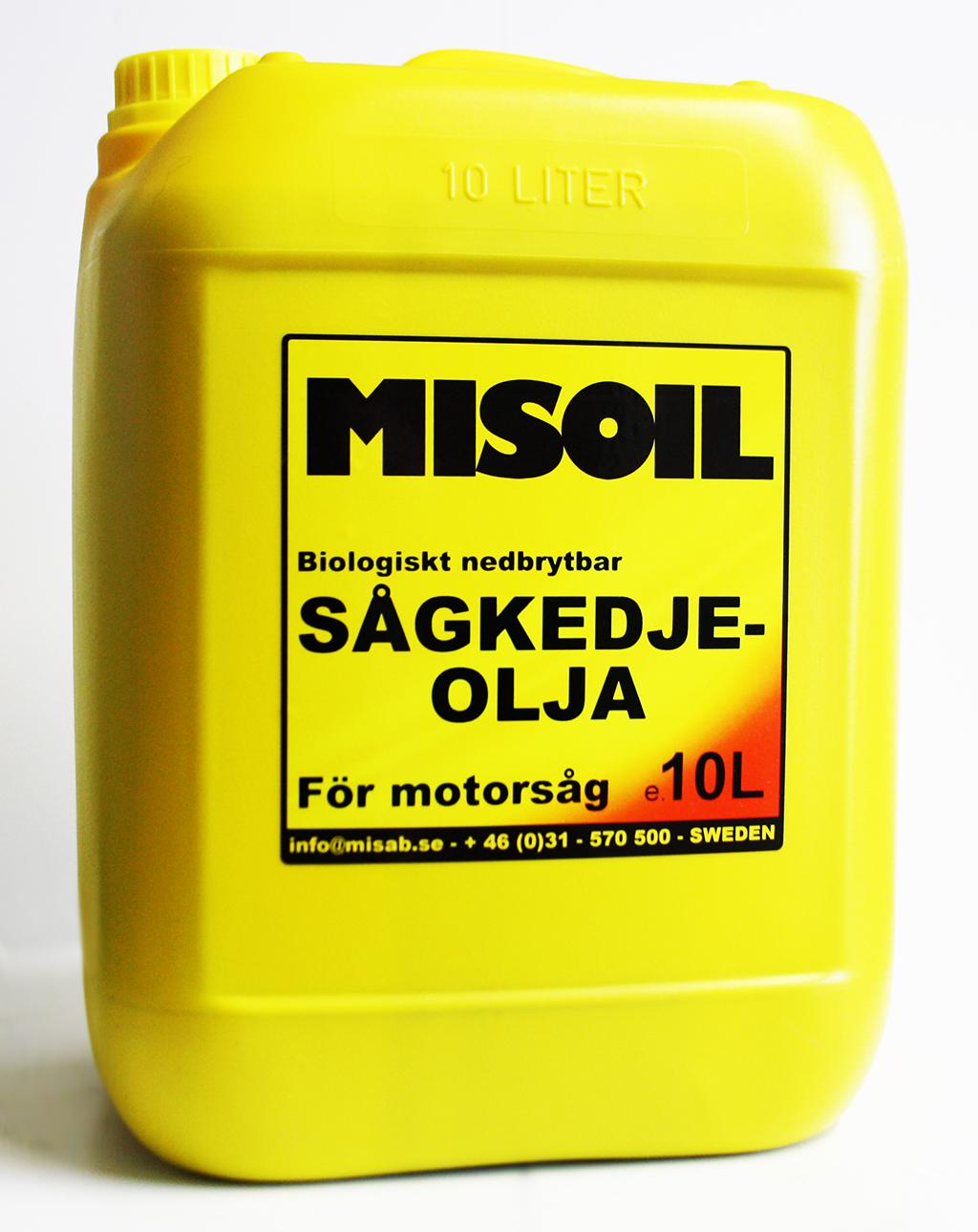 MISOIL SÅGKEDJEOLJA BIO 10L
