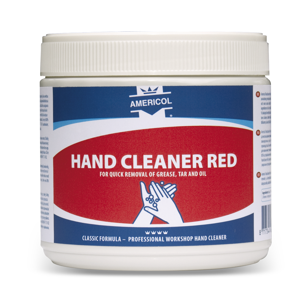 HANDCLEANER RÖD 600 ml