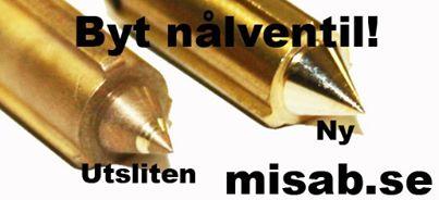Nålventil Weber DCOE, misab.se